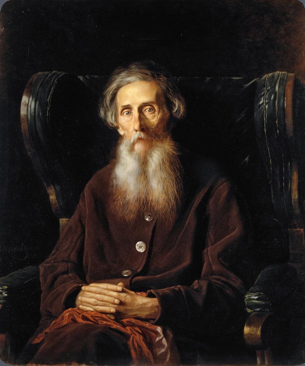 Василий Перов Портрет писателя Владимира Ивановича Даля