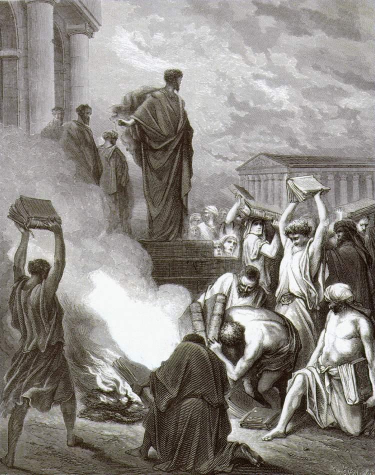 Гюстав Доре Павел в Эфесе