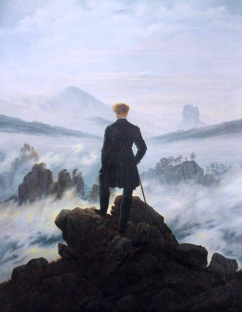 Каспар Давид Фридрих Странник над морем тумана
