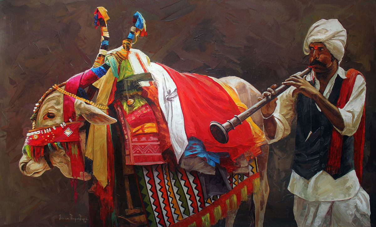 Ируван Карунакаран (Индия) Священная корова