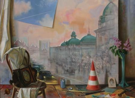 Кичигин Г.П, Незаконченная картина