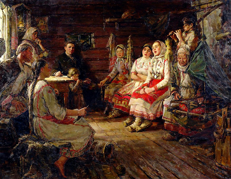 Петр Кипарисов Песня, 1957
