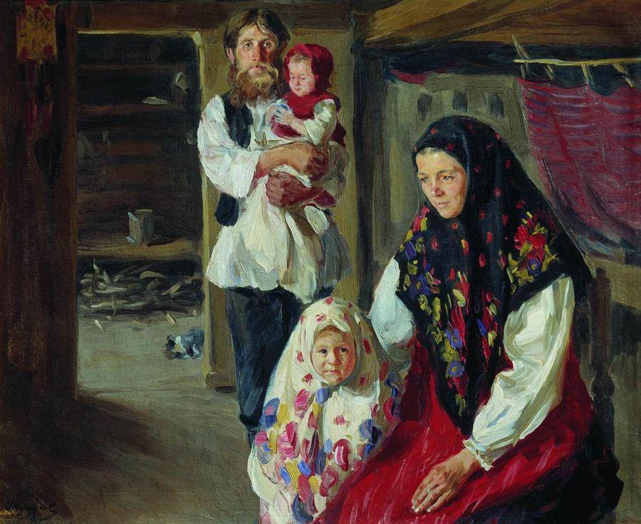 Иван Куликов Семья лесника