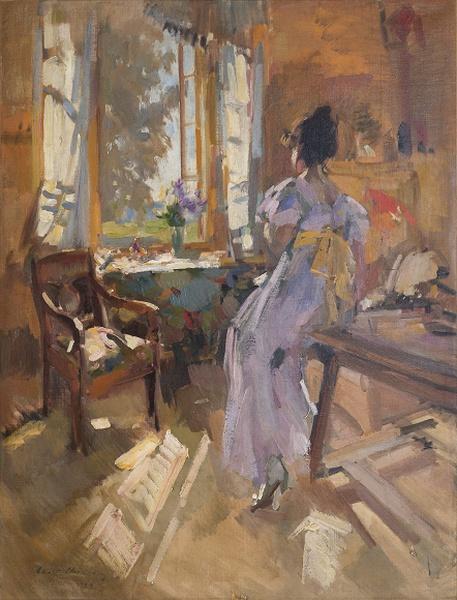 Константин Коровин Девушка у окна
