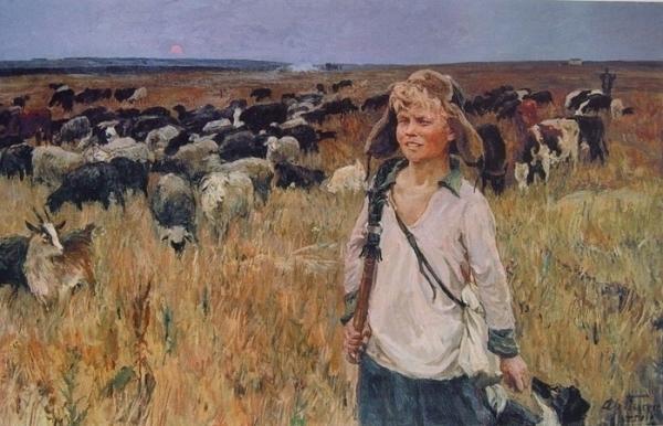 Аркадий Пластов Ваня-подпасок