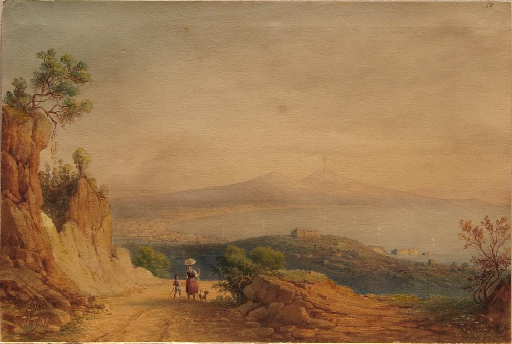 Нотнагель В.-Ф. Вид Неаполя