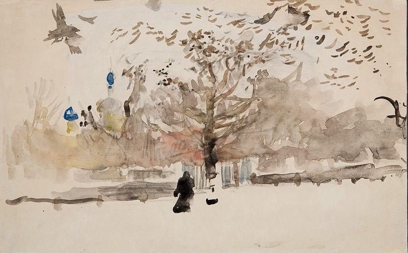 Валентин Серов. Пейзаж. 1890-1900