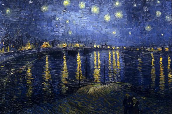 Винсент Ван Гог Звездная ночь над Роной