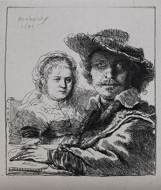 Рембрандт Харменс ван Рейн. Рембрандт и его жена Саския