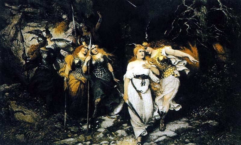Фердинанд Лееке Валькирии Брунгильда и Сиглинда