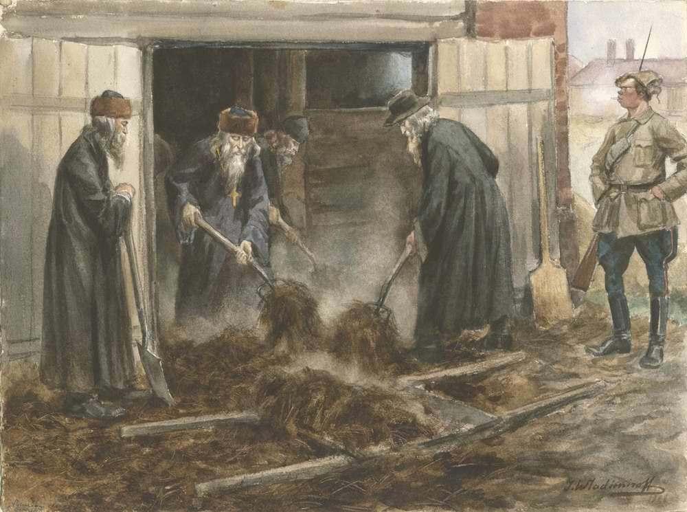 Иван Владимиров Русское духовенство на принудительных работах