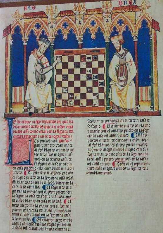 Альфонсо Х Кастильский, Книга об игре в шахматы, кости и нарды