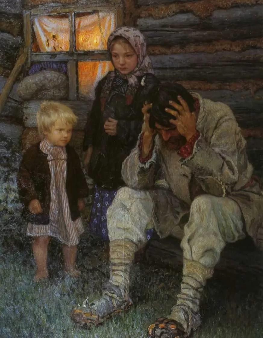 Н. Богданов-Бельский Горе