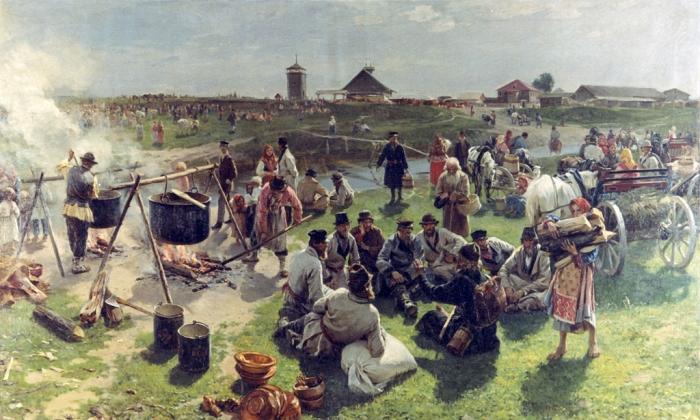 Илларион Прянишников Сельская братчина