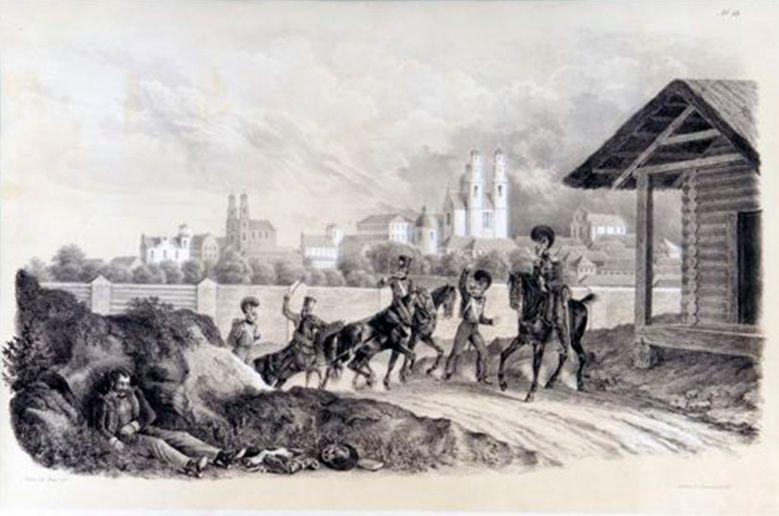 На подходе к Полоцку, 25 июля 1812 года