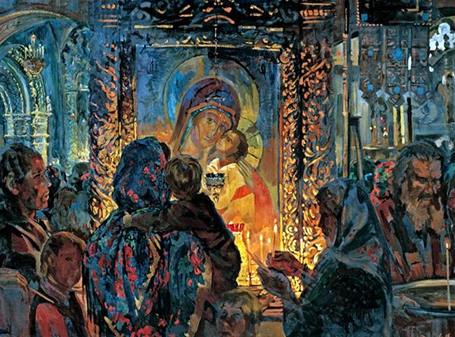 Алексей Федоров. Надежда, Покров и Утешение