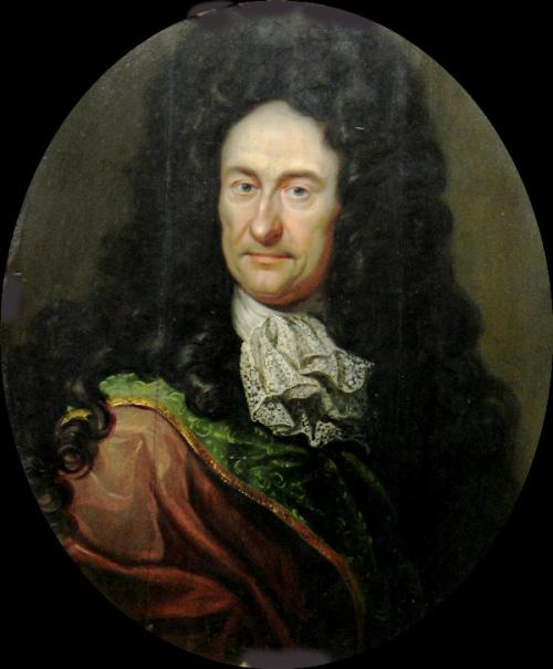 Портрет Лейбница работы Иоганна Фридриха Вентцеля