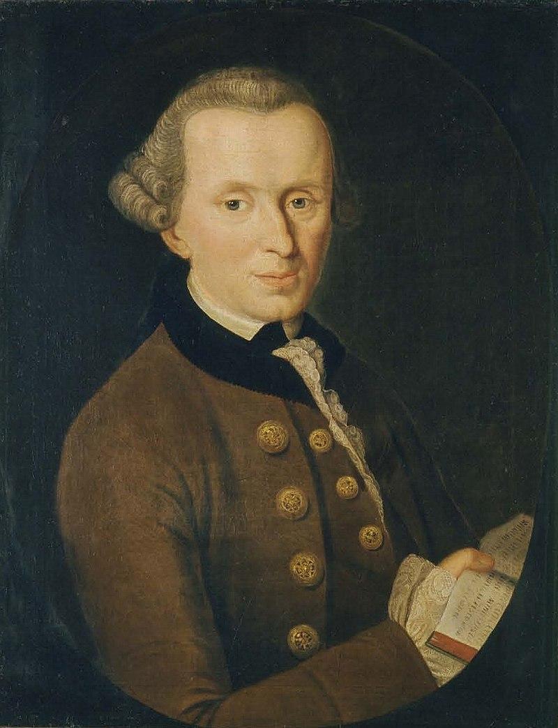 Иоганн Готтлиб Беккер Портрет Иммануила Канта, 1768