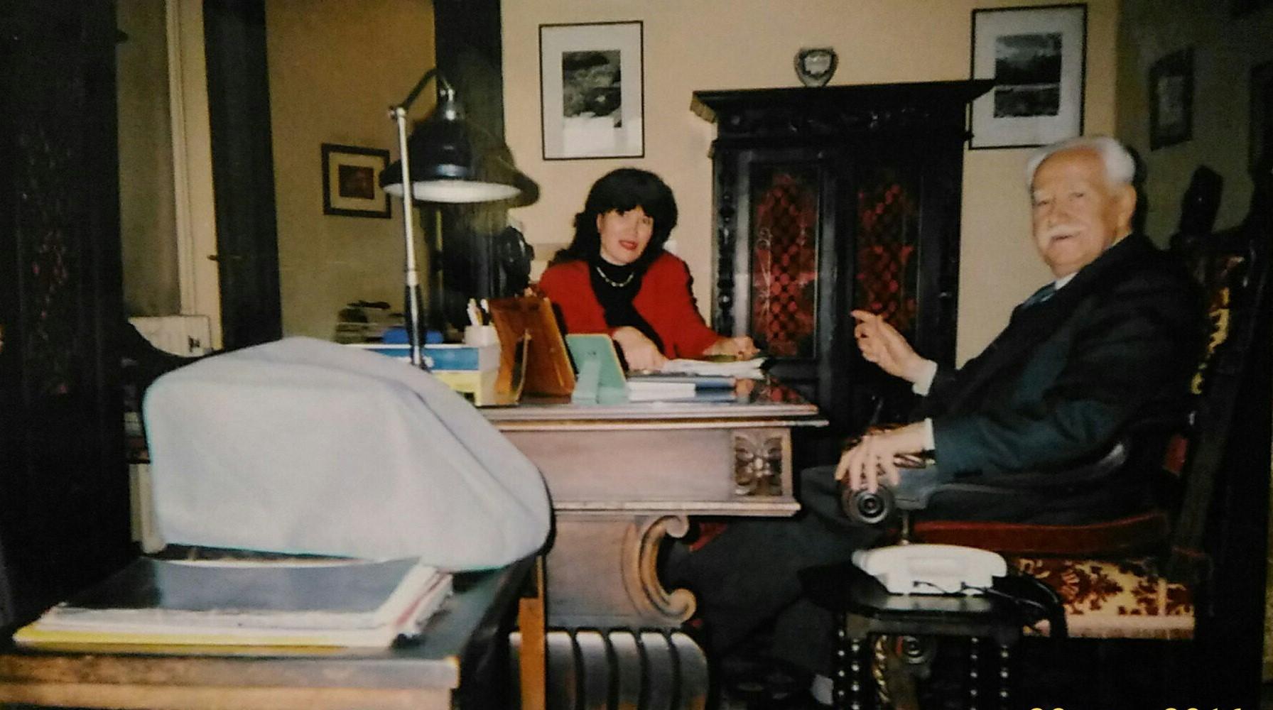 В адвокатской конторе. Турин. Май 1996