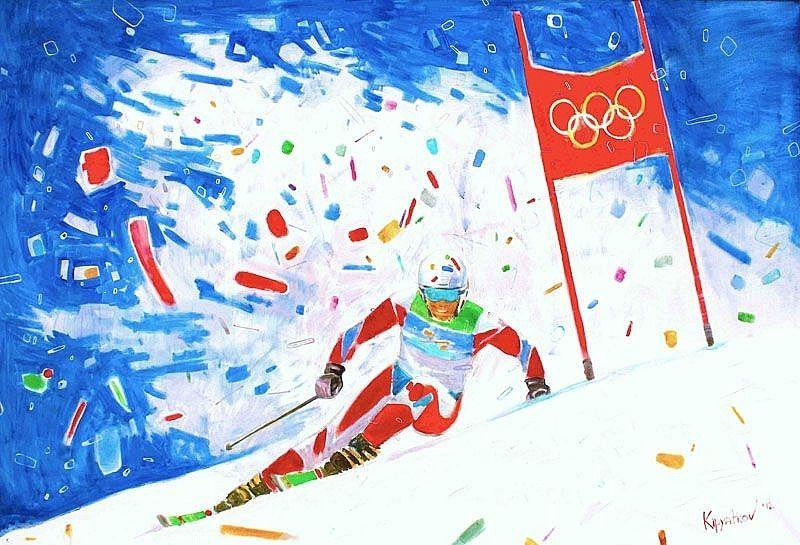 Кирилл Кипятков Горнолыжный спорт. Слалом 2012