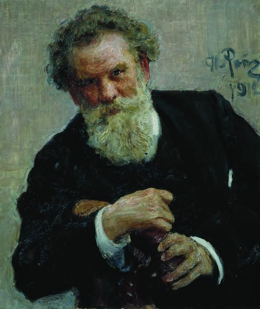 Илья Репин Портрет В.Г. Короленко