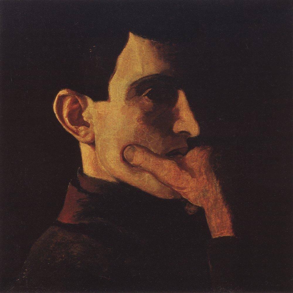Николай Крымов Автопортрет 1908