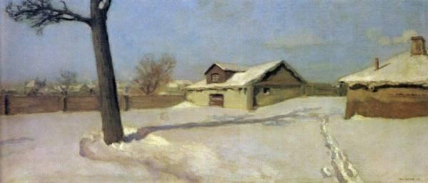 Николай Крымов Зима