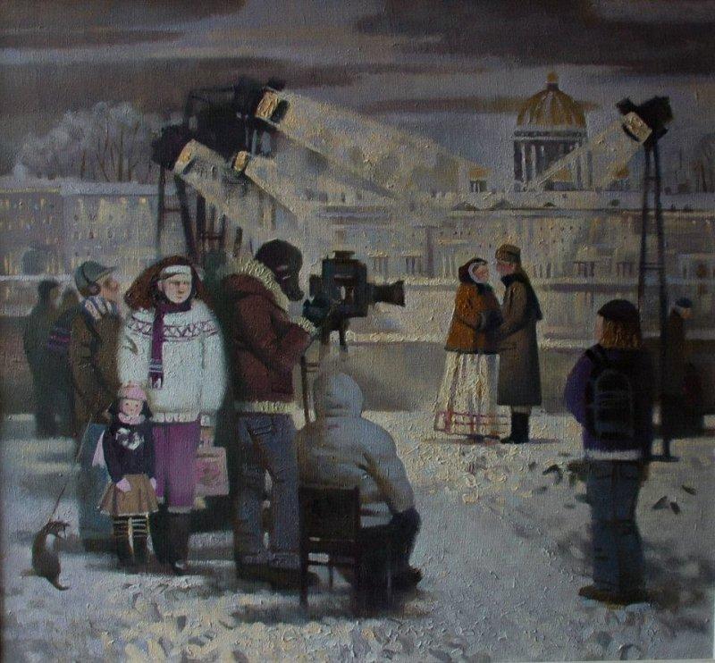 Анастасия Лобанова Вечер на Неве