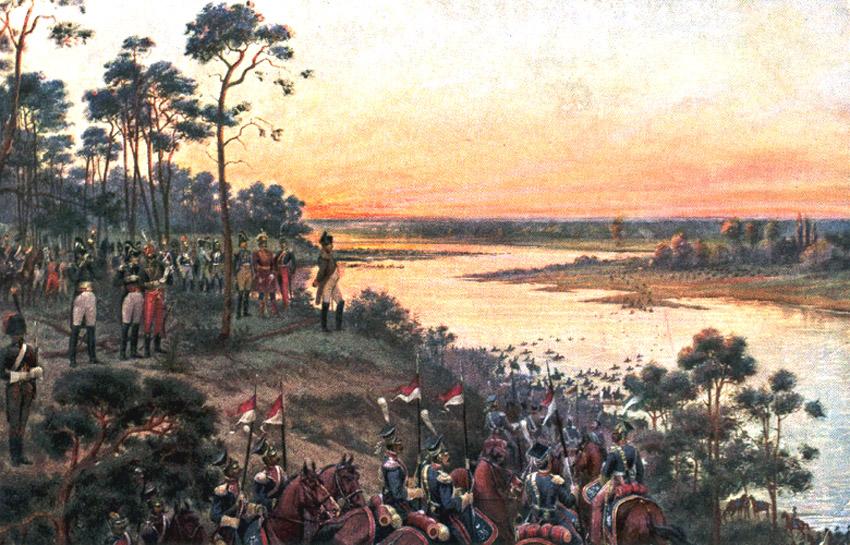 Виктор Мазуровский Переход Наполеона через Неман
