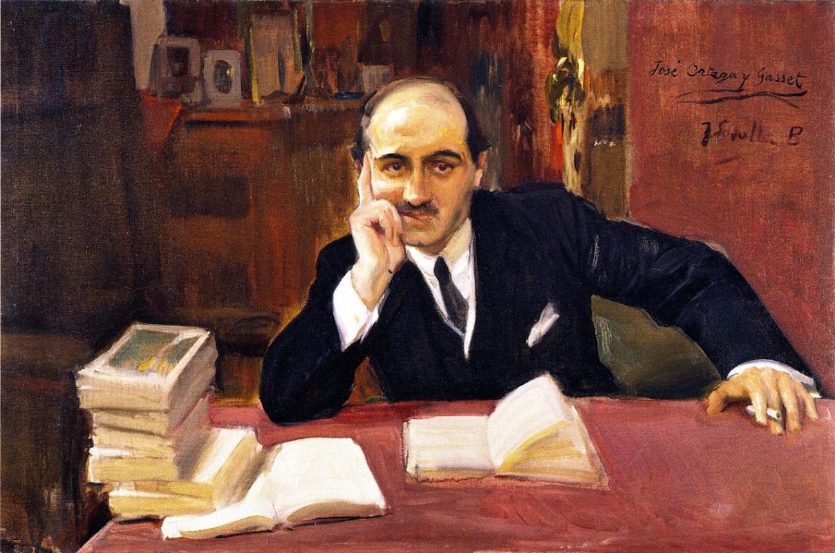 Хоакин Соролья (Соройя) Портрет Хосе Ортеги-и-Гассета, 1918