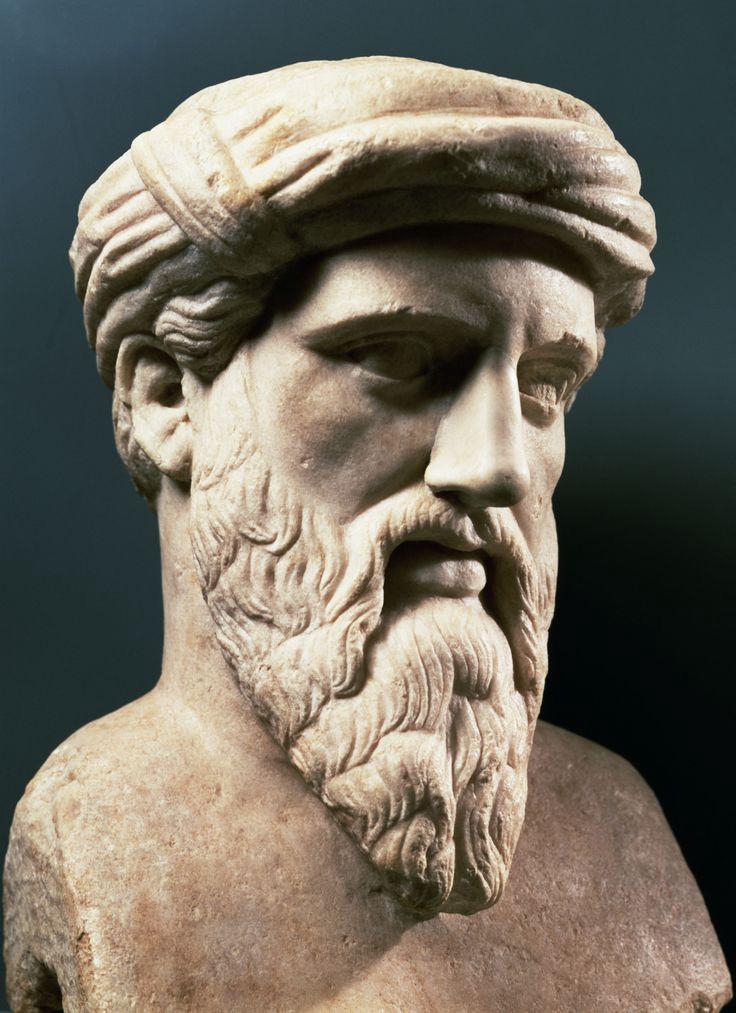 Пифагор Пифагор. Копия с греческого оригинала, середина V в. до Р.Х.