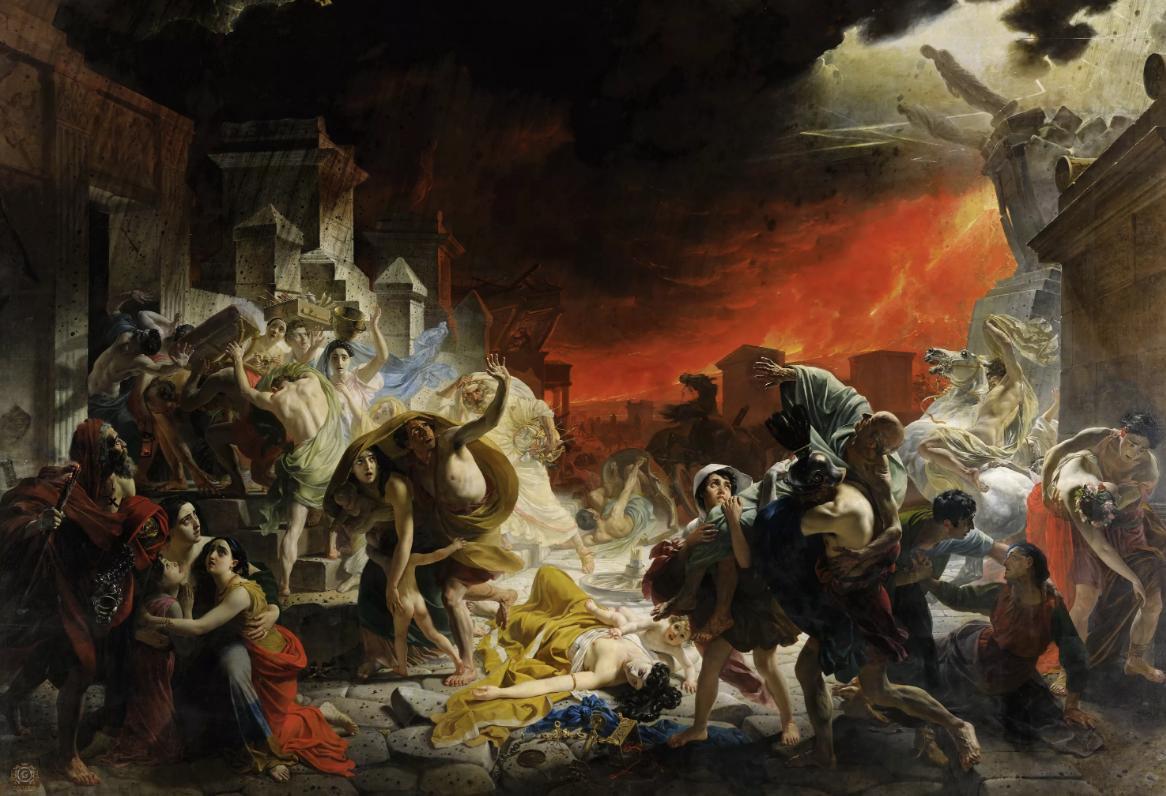 Картина Карла Павловича Брюллова «Последний день Помпеи»