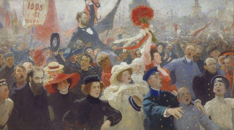 Илья Репин 17 октября 1905 года