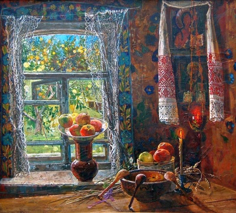 Инесса Сафронова Яблочный Спас, 1996