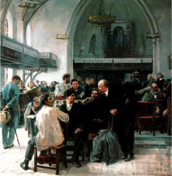 И. Серебряный. На V Лондонском съезде РСДРП в 1907 году