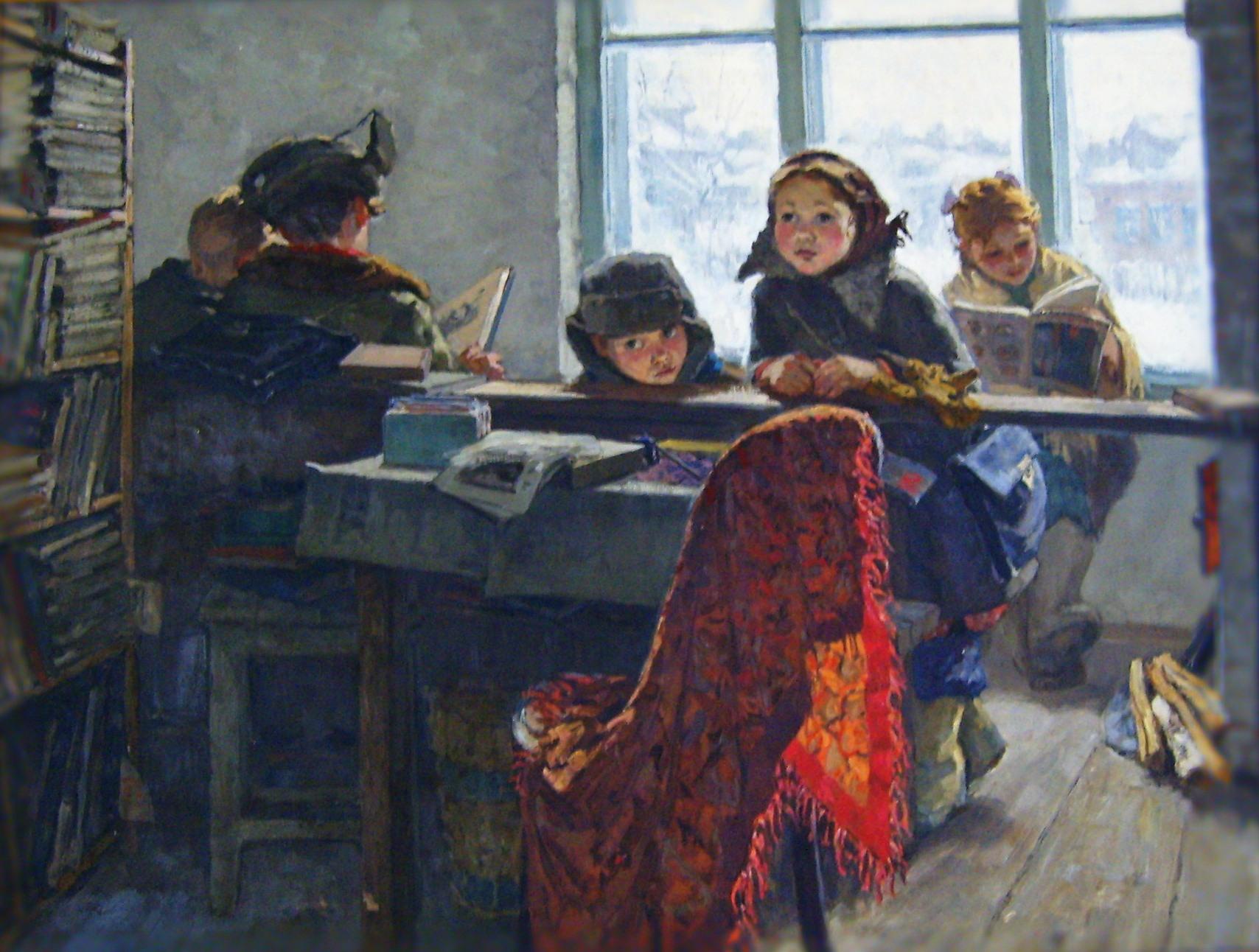 Ирина Шевандронова В сельской библиотеке