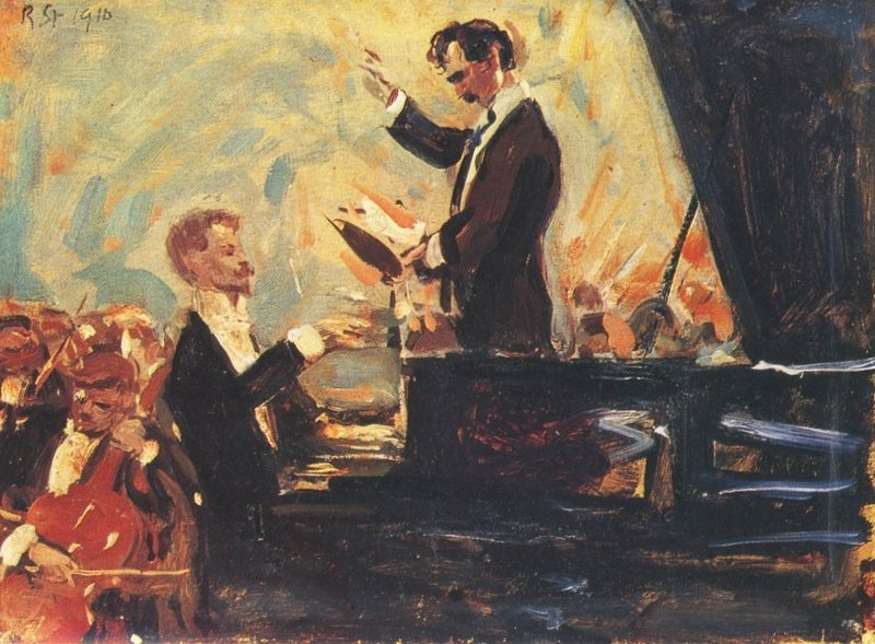 Роберт Штерль Фортепианный концерт (Скрябин и Кусевицкий)
