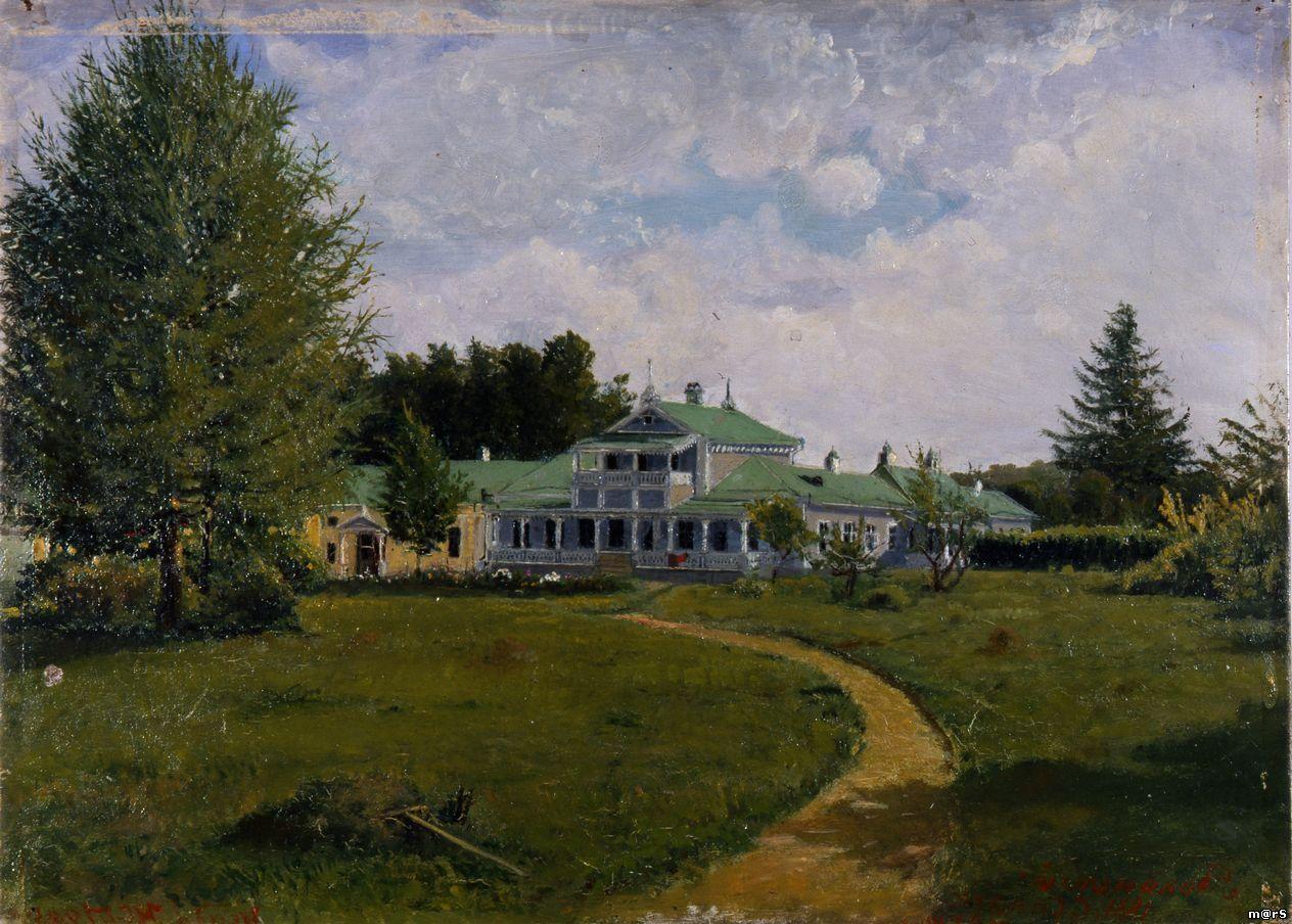 Яков Полонский Усадебный дом Тургенева
