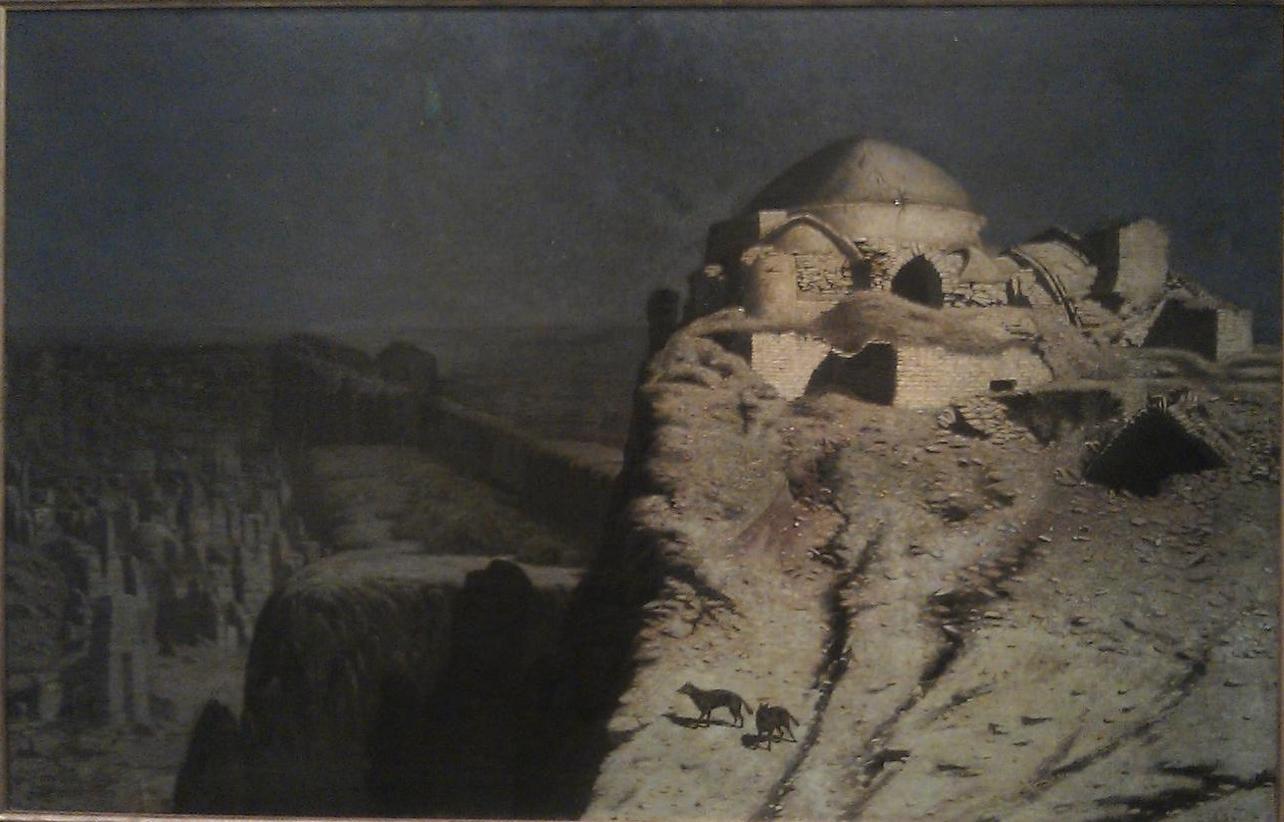 В.В. Верещагин Ночь. Шакалы, 1868-70