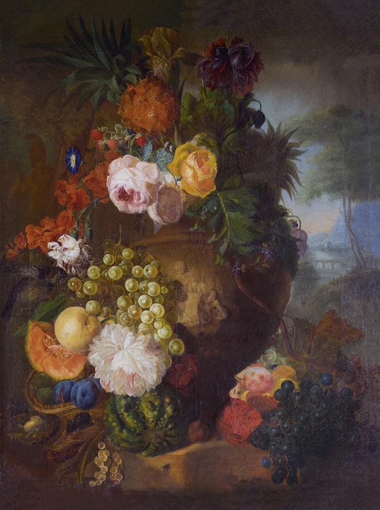 Ян ван Хейсум Цветы и фрукты.