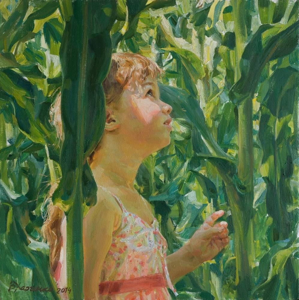 Виктория Харченко Зеленый лес кукурузы