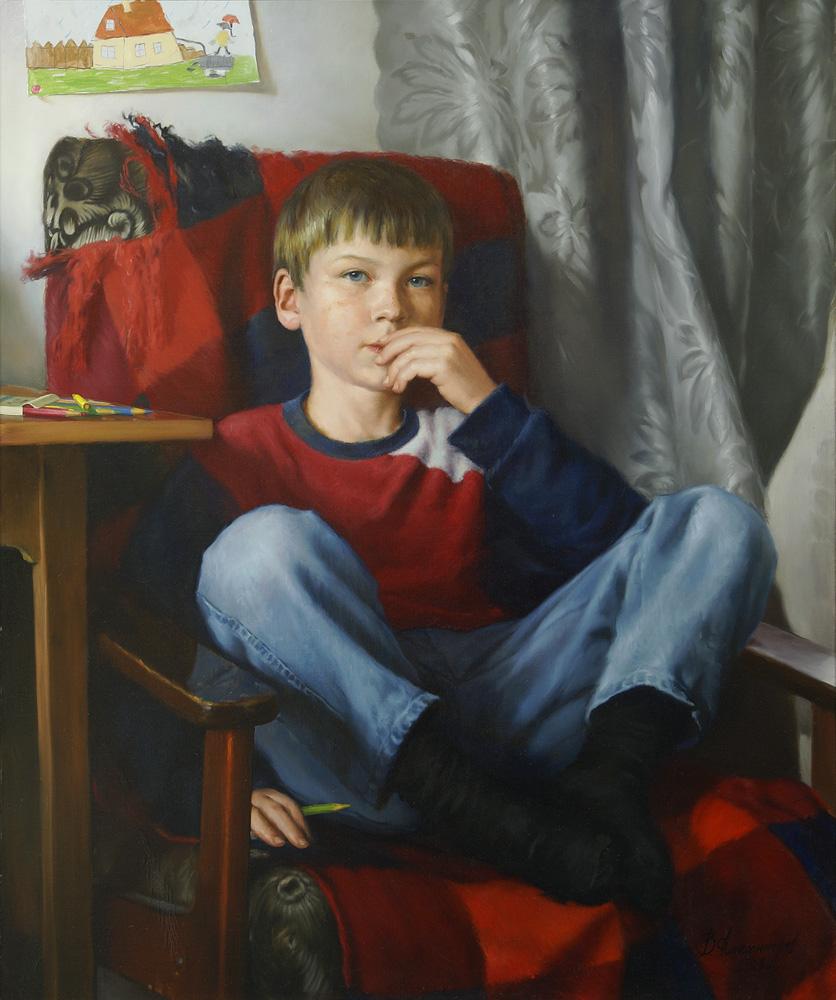 Владимир Александров Портрет Вити