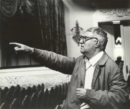 Георгий Свиридов на репетиции