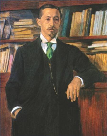 Владимир Россинский Портрет И.А. Бунина, 1915