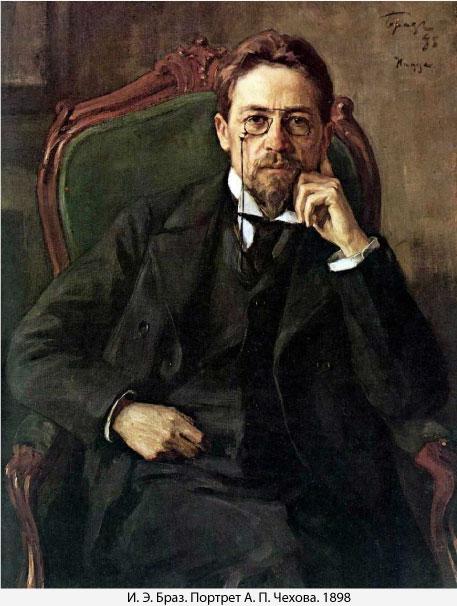 Осип Браз Портрет А.П. Чехова, 1898