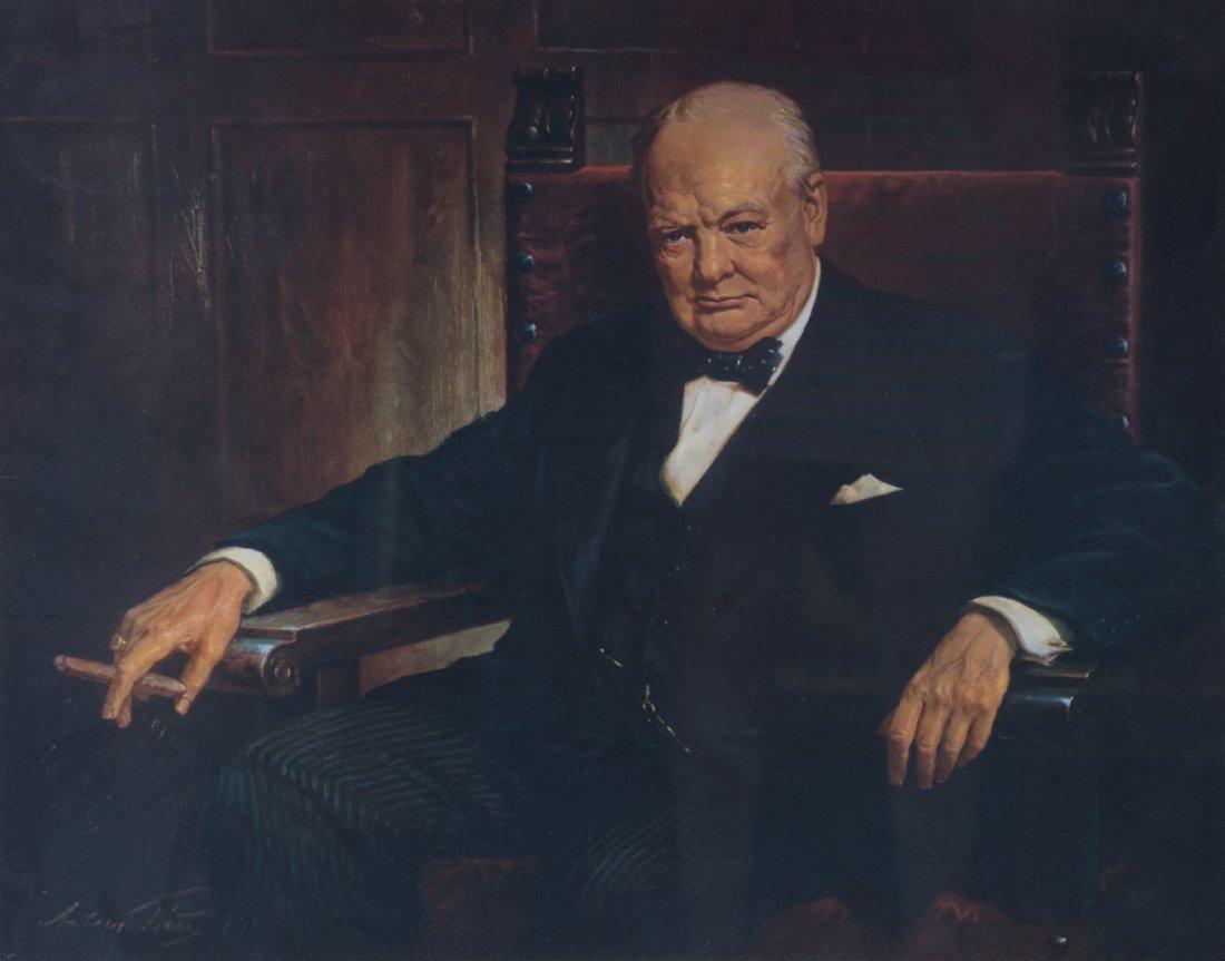 Артур Пан Портрет Уинстона Черчилля