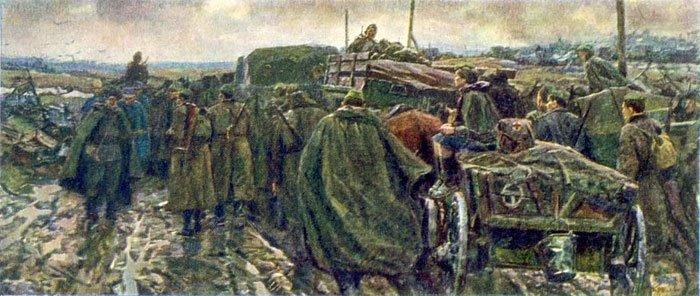 Борис Николаев Дороги войны