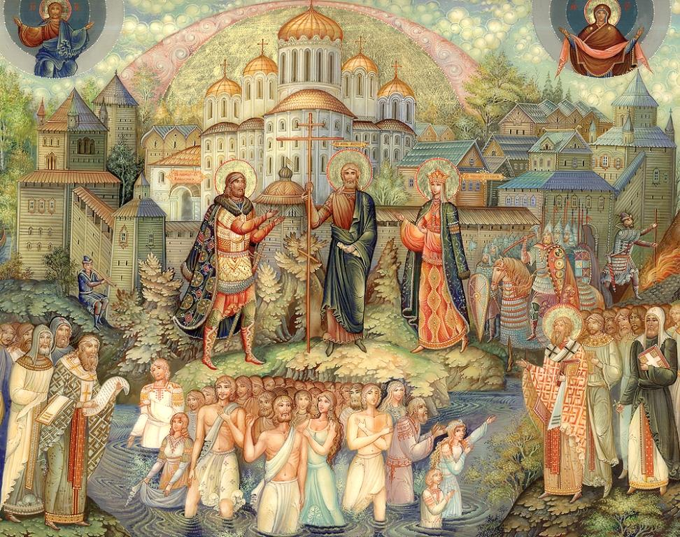 Николай Молодкин Крещение Руси Мстера 2012