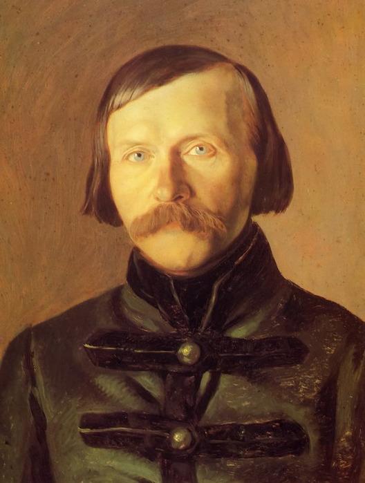 Эммануил Дмитриев-Мамонов Портрет П.В, Киревского, 1840-е гг