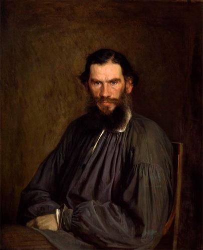 Иван Крамской Портрет Л.Н. Толстого